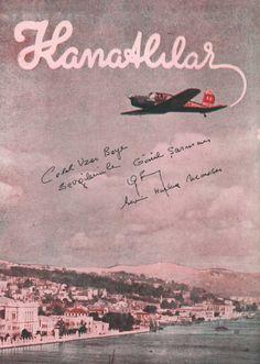 ilk sivil havacılık dergisi ve girişimi: Kanatlılar (1947) #istanlook
