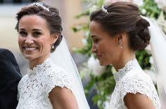 Image result for pippa middleton wedding hair