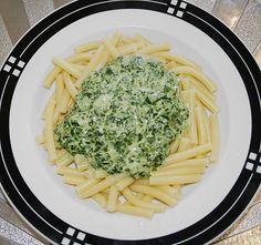 Spinat - Frischkäse - Soße 3