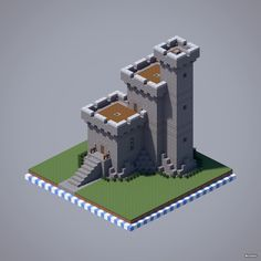 Fortified House Castle Style