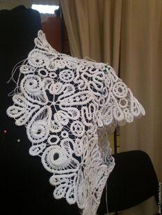 Tutoria Rumanian lace top Румынское кружево от идеи до воплощения. - Ярмарка Мастеров - ручная работа, handmade