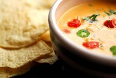 chile con queso (withOUT Velveeta! Yes please?!?) From the Homesick Texan.