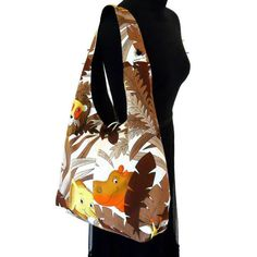 Retro Boho Bag in a 70s Zoo Jungle Animal Vintage by audreyscat, £28.00