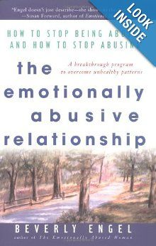 The number of people who become involved with partners who abuse them emotionally and/or who are emotionally abusive themselves is phenomenal, and yet emotional abuse is the least understood form of abuse. In this breakthrough book, Beverly Engel, one of the world's leading experts on the subject, shows us what it is and what to do about it.