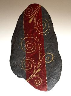 A personal favourite from my Etsy shop https://www.etsy.com/listing/225173365/hand-painted-rocks-hand-painted-stones