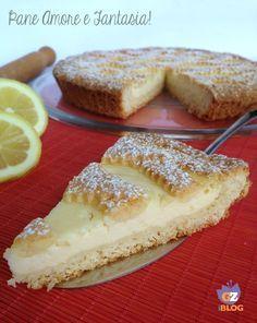 Crostata con crema di ricotta al limone - dessert