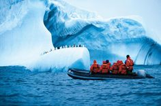 A tour group from Cape Horn in Chile reaches the Antarctic Peninsula on the world's most remote continent.