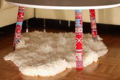 Hupsistarallaa: Sohvapöydän joulusukat