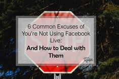 Are you using Facebook Live for your business as much as you should? If not, chances are you're using one, or more, of these excuses. Here are ways to stop using them. Make More Money, Make Money From Home, Earn Money Online, Blogging For Beginners, Social Media Tips, Friendship Quotes, Live For Yourself, Law Of Attraction, Self Help