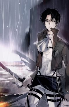 Levi Rivaille Ackerman Heichou | Attack on Titan | Shingeki no Kyojin | ♤ Anime ♤