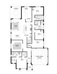 Hamilton Floor Plan