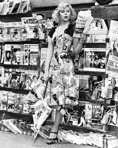 News dress, April 1974. (Photo source: Manchester Daily Express / Science & Society Picture Library)