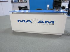Front desk at the Maxam Stand #Maxam #MaxamTire #Tire #Tyre #Tires #Show #AIMEX #Sydney #Australia #Stamford #Exhibition #OTR #Solid #Pneumatics #Industrial #Construction #Mining #Smooth #Running