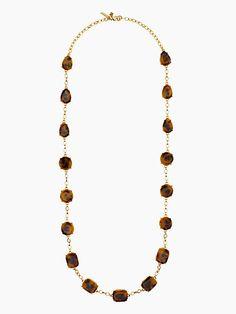 swirl around scatter necklace