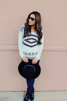 Bring on the Fall! Find ways to bump up your style at Mychicbump.com #maternity #pregnancy #style #tribal