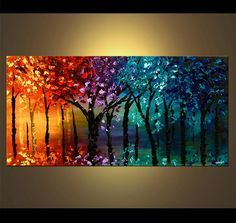 abstract landscape paintings - Google Search