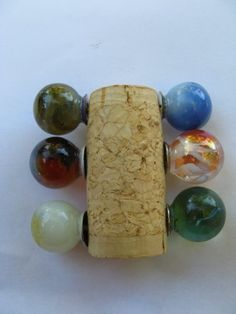 Reclaimed Marble thumbtacks by TaDahpdx on Etsy