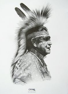 Native American Pencil Drawings | Recent Photos The Commons Getty Collection Galleries World Map App ...