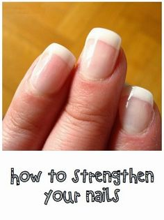 How To Beauty : How to strengthen your nails #nails_care