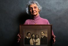 Powerful Portraits Of Auschwitz Survivors Mark 70th Anniversary Of Their Liberation