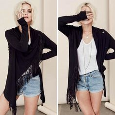 ⚡️Esra Fringe Cardigan⚡️must for upcoming fall✔️ @classicpaperdoll #cpdfave…