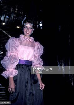 Brooke Shields At Wella Luncheon May 6 1981 Stock Pictures, Royalty-free Photos & Images Blair Waldorf, Beautiful Models, Most Beautiful Women, Brooke Shields Young, Beloved Film, Calvin Klien, City Model, Zara, Pelo Natural