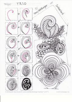 Trio pattern by Zenjoy