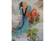 Au ciel et sur la terre: Pa Hsien 八仙人 Folk Religion, Asian Artwork, Chinese Mythology, Taoism, China Art, Zen Art, Chinese Culture, Zen Chinese, Ancient China