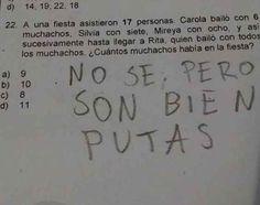 Reirás con las respuestas en los exámenes de los niños de hoy en día .