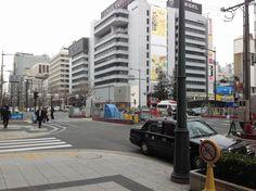 오사카-신사이바시역을 나오자마자 ...