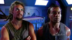 """Teal'c-'There is wraith in midway."""" Ronon- """"Ok, let kill'em.'"""