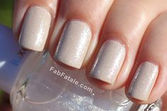 Essie Sand Tropez with Essie's LuxeEffects in Pure Pearlection