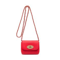 Spin & Win, your chance to win a Mulberry bag while finding the perfect gift - Mini Lily in Hibiscus Small Classic Grain