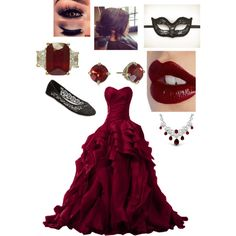 Masked Ball by bralynn-tate on Polyvore featuring polyvore moda style Masquerade Wet Seal Bling Jewelry Kate Spade Charlotte Tilbury