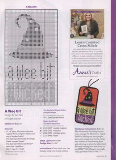 ru / Photo # 39 - Just Cross Stitch 2014 October 10 - tymannost Cross Stitch Freebies, Counted Cross Stitch Patterns, Cross Stitch Charts, Cross Stitch Designs, Cross Stitch Embroidery, Cross Stitch Kitchen, Just Cross Stitch, Cross Stitch Needles, Halloween Cross Stitches