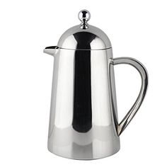 Francois et Mimi Double Wall French Coffee Press 27Ounce Stainless Steel -- Check this awesome product by going to the link at the image.