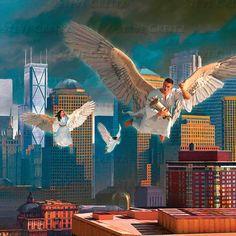 REVELATION — Creitz Illustration Studio Heaven Art, High Definition, Angels, Studio, Random, Illustration, Angel, Studios, Illustrations