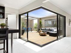 Boutique Aluminium Corner Sliding Doors - A&L Windows and Doors » A&L Windows