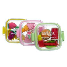 Fantastic for a foodie: smiggle puzzle erasers Cute Office Supplies, Cool School Supplies, Cool Stationary, Eraser Collection, Cool Erasers, Desk Essentials, Kawaii Room, Kawaii Stationery, Mini Things