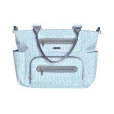 JJ Cole Caprice Diaper Bag - Aqua Radian = $70