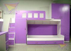 encuentra las mejores ideas e inspiracin para el hogar literas y muebles juveniles por camas