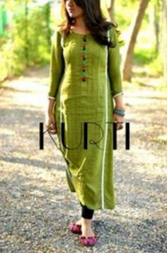 KURTI presents beautiful dresses for girls by keeping in mind the latest trends and growing needs of fashion. Check out what Kurti presents for you. Churidar Designs, Kurta Designs Women, Blouse Designs, Pakistani Dresses, Indian Dresses, Indian Outfits, Anarkali Dress, Anarkali Suits, Indian Sarees