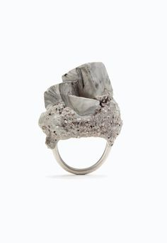 Jade Mellor Concrete Objective Ring