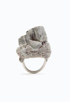 Jade Mellor Concrete Objective Ring