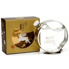 Sake Bottle / 月の上善如水 純米吟醸 - 白瀧酒造