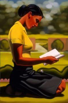 pintura de Kenton Nelson