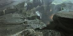 Image Destiny Xbox 3 - 5 - Ce gouffre a l'air d'être un lieu très adapté pour passer quelques vacances.