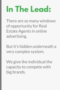Real estate advertising is a really competitive game. And even if you setup great ads like the ones I've linked too above, you can get unprofitable 'clicks' and 'leads' if you don't monitor the results on a daily basis.