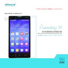 NILLKIN Amazing H Nanometer Anti Explosion Tempered Glass Screen Protector For HUAWEI Honor 3C,MOQ:1PCS-in Screen Protectors from Phones & Telecommunications on Aliexpress.com | Alibaba Group