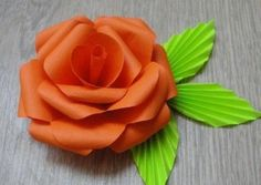 DIY Easy Paper Rose